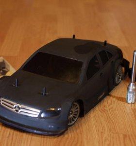 Deagostini Mercedes Машинка с ДВС на нитрометане