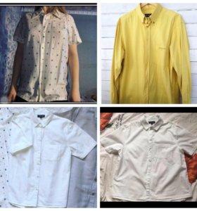 TOPSHOP рубашки с короткими рукавами