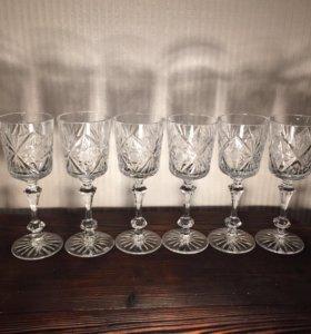 Шикарные бокалы для вина