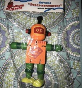 Игрушка 🤖 робот марионетка