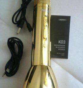 Микрофон-караоке Remax 03