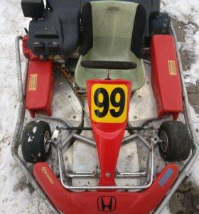 Карты на раме Dino с мотором Honda 13 л.с.