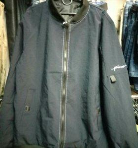 Куртка мужская, синяя, размеры 4XL-8XL