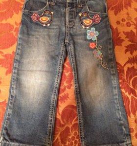 Утеплённые джинсы Mothercare p.92