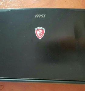 Игровой ноутбук торг GE62-2QC-Apache