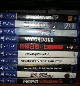 Игры на PS-4
