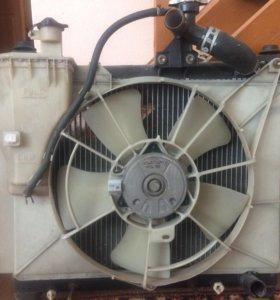 Радиатор на Витц