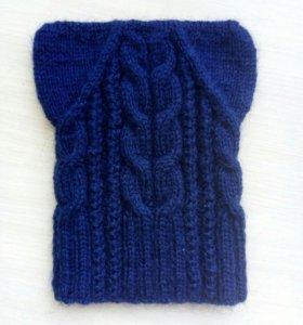 Продам шапочку, ручное вязание