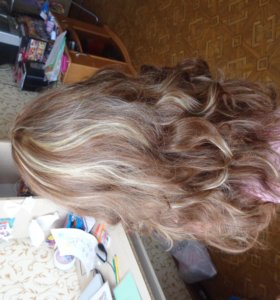 Натуральный волос!