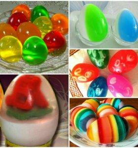 Пасхальные мыло ручной работы )мыло яйцо