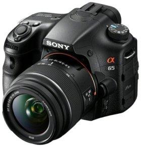 Продам новый фотоаппарат sony slt -a 65