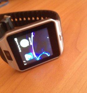 Smart watch DZ09, Умные часы