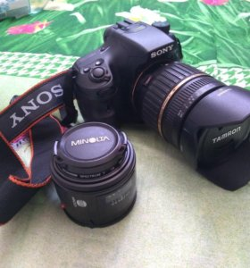 Sony a65 и объективы