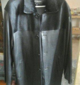 Куртка кожаная демесезонная,натуральная кожа