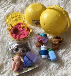 Куклы ЛОЛ+ ЛОЛ петс