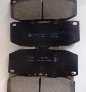 Колодки тормозные дисковые на Субару