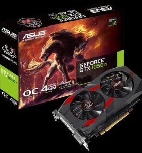 Видеокарта ASUS GeForce GTX 1050 Ti Cerberus