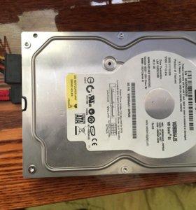 Жёсткий диск (sata )-80gb
