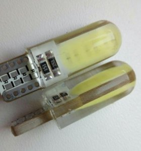 Лампа T10 светодиодная (диоды залиты гелем)