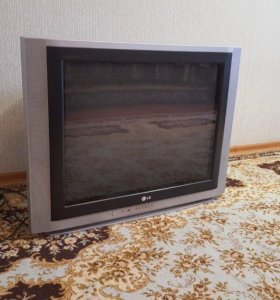 Кинескопный Телевизор LG + пульт (рабочее 100%)