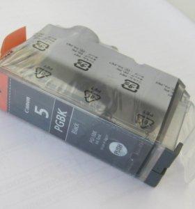 Картридж новый оригинальный PGI-5BK от Canon