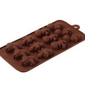 Форма для льда и шоколада, Динозаврик