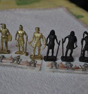 Солдатики из киндеров