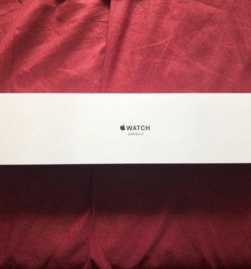 Коробка Apple Watch 38 gold, eac.