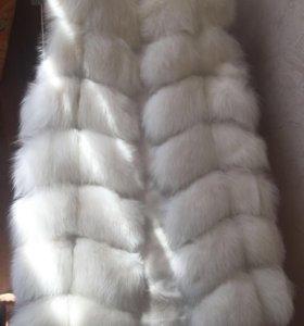 Жилетка меховая (белая)