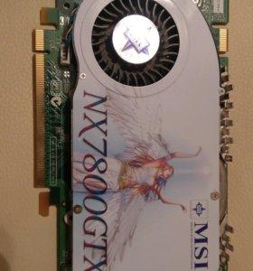 Видеокарта Nvidia GeForce NX7800GTX
