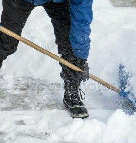 Уберем снег