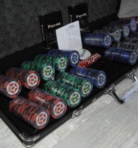 Новый покерный набор Black Stars на 500 фишек