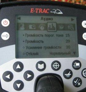 Металлоискатель Minelab e-trac