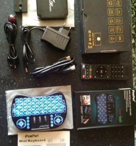Tv box x96 mini + клавиатура к приставке