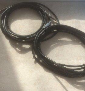 Два Джек- кабеля для гитары
