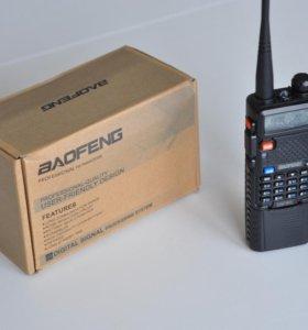 Рация Баофенг UV-5R с увеличенным аккумулятор