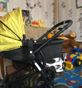Детская моноблочная коляска