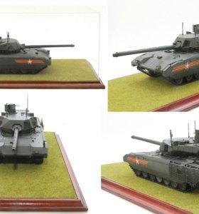 Модель танка Армата Т-14