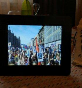 Фото и видео рамка, цифровая.