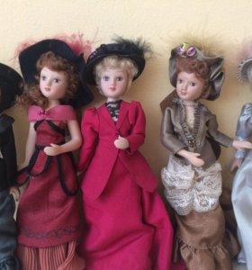 "Куклы "" Дамы Эпохи"""