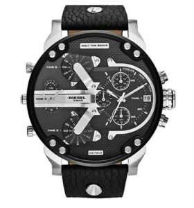 Мужские часы Diesel 3 Bar Quartz Black