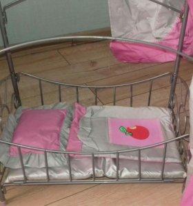 Кроватка для куклы