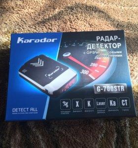 Радар-Детектор, антирадар, GPS. Karadar g-700str