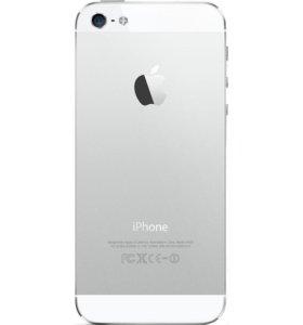 Корпус iPhone 5 серебро