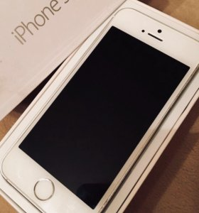 IPHONE 5S Silver 16gb
