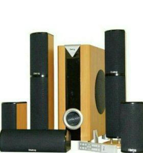 Аудиосистема Диалог5.1