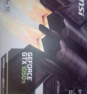 MSI GeForce GTX 1050Ti OC 4Гб 128 bit GDDR5