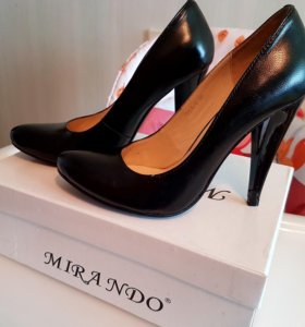 Кожаные туфли 36 размера