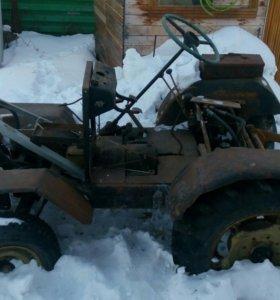Трактор мини самодельный