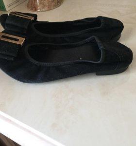 Балетки ; туфли без каблука